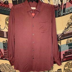 Tommy Bahama Silk/Wool long Sleeve Large